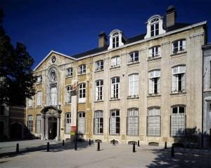 plantin Moretus façade