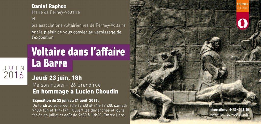 Expo invitation La Barre 2016